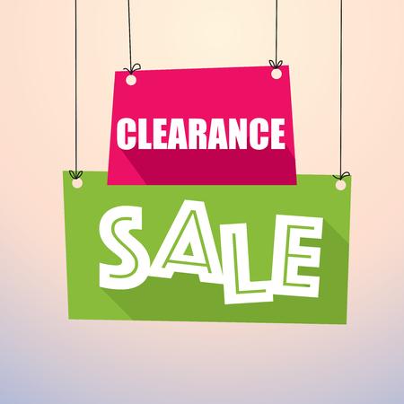 クリアランス セール - 紙のタグ