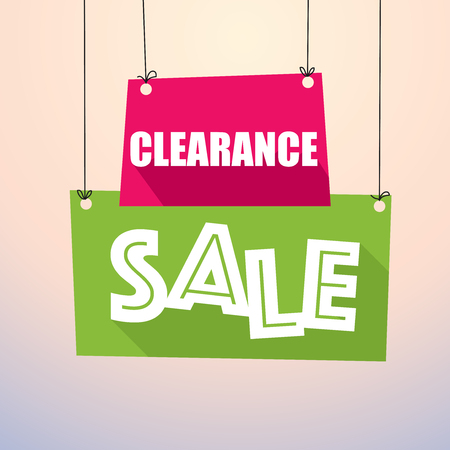 discounts: CLEARANCE SALE - Paper Tags