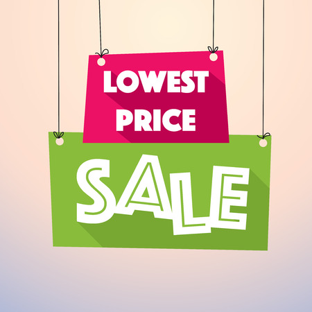 Lowest Price Sale - Colorful Sale Tag