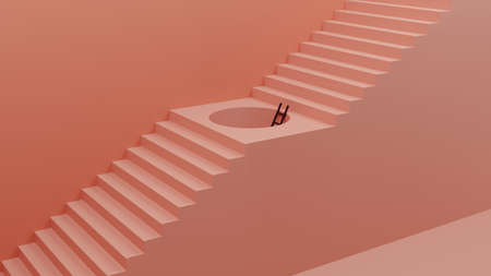 Creative Concept for Shortcut, Opportunity, Growth and more - 3D illustration