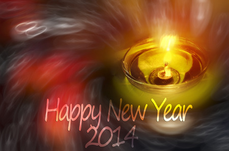 happy diwali night lamp zen candles night scene  photo