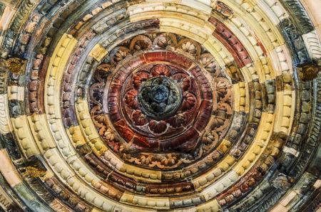 designe: abstract pattern old ceiling designe background
