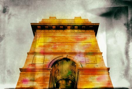 india gate: india gate historical monument at new delhi india asia