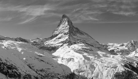 matterhorn: Matterhorn in winter