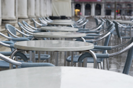 venician: San Marco after rain Stock Photo