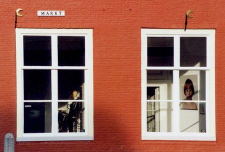 huis van de kunstenaar Stockfoto