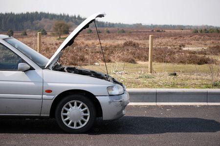 Motoring breakdown Standard-Bild