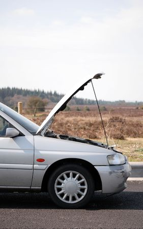 Car Trouble Standard-Bild