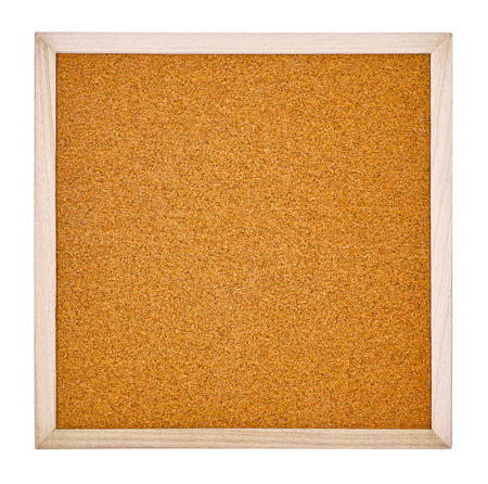 The corkboard of a white background  photo