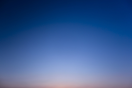A gradation of the sky. Sunset sky background.