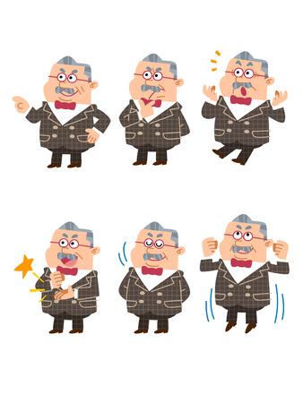 assentiment: Homme d'affaires confus