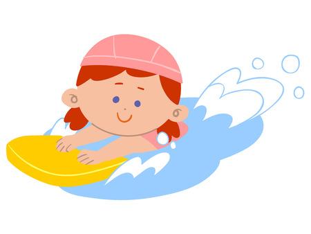 lessons: Girl swim