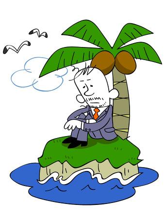 rekolekcje: Biznes sam człowiek w bezludnej wyspie