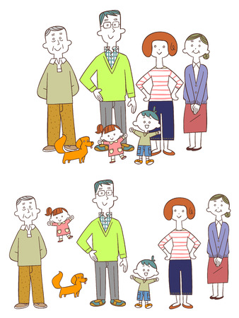heartwarming: Family Illustration