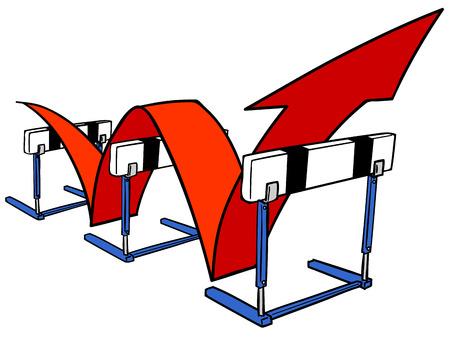 hurdle: Hurdle Illustration