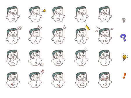 impatient: 20 types d'expression des hommes