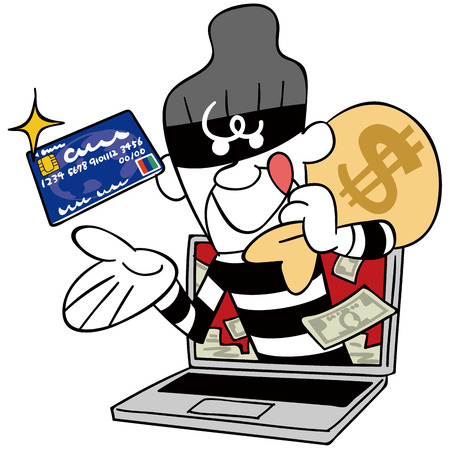 thief: Thieves steal credit card information
