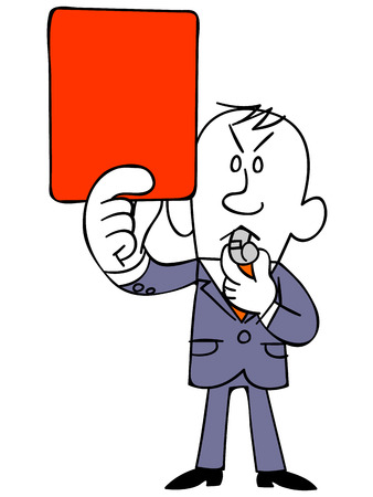 use regulations: Businessman to issue a red card