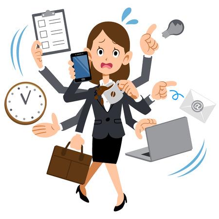 aussi: Les femmes travaillant dans trop occup�s entreprise