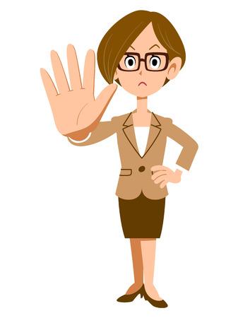 gestures: Gestures stop women glasses