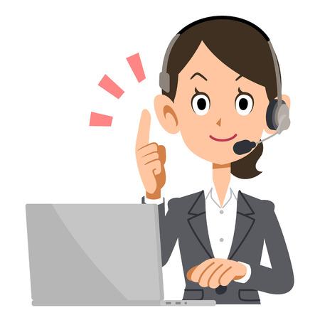 advisor: Operator to explain Illustration
