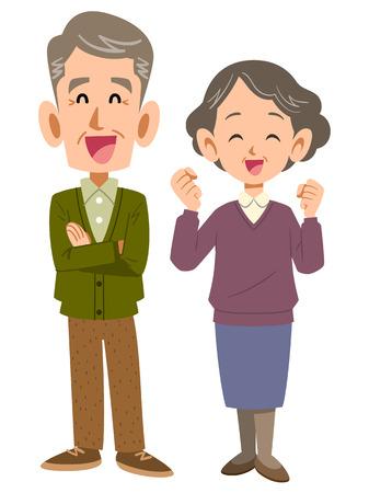 pflegeversicherung: Gl�ckliches Paar
