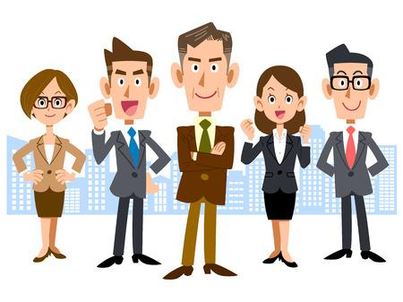 Business Center and executive team