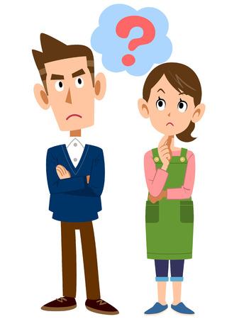 molesto: Parejas jóvenes pregunta
