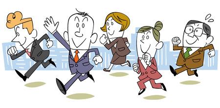 same: Run business team