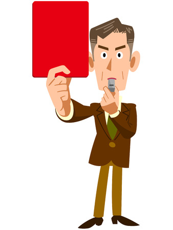 Corporate executives issued a red card