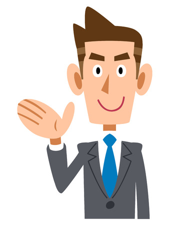 new employees: To introduce corporate Illustration