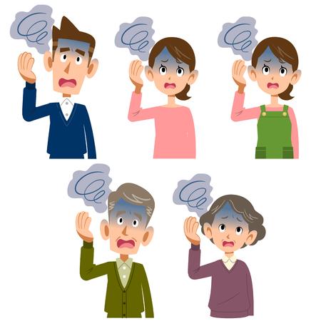 headache men and women