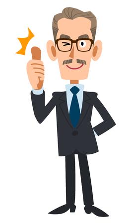 older men: Praise older suits men