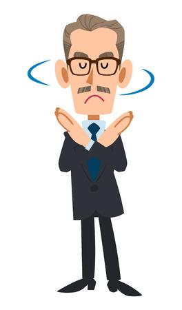 older men: Rejects the older suit men