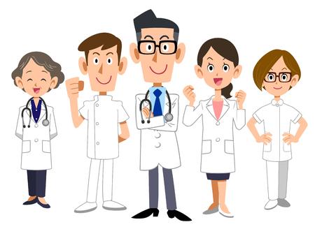 의사 팀 스톡 콘텐츠 - 72868646