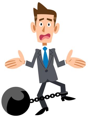 prisoner of war: Businessman hobbles troubles