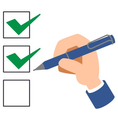 Checklist check