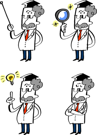 dr: Dr. various poses