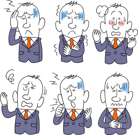 Businessman disease 6 symptoms