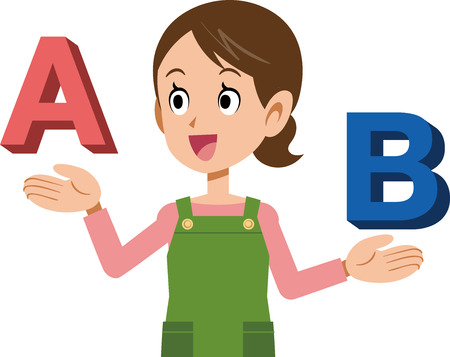 Housewife who compares A and B and selects A