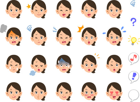 Twenty types of women