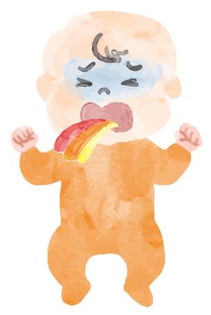 Vomit baby