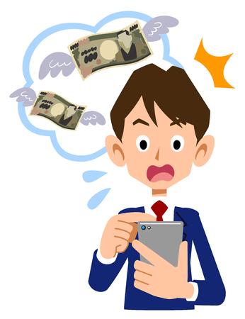 El colegial que se sorprende de la tarifa por el uso del teléfono celular