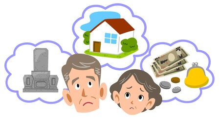 Senior couple worried about retirement