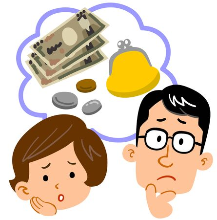Couple, worried about money