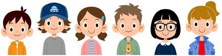Children's upper body