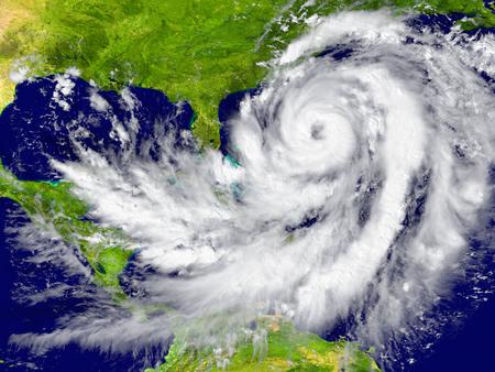 Riesige Hurrikan zwischen Florida und Kuba. Elemente dieses Bildes von der NASA eingerichtet