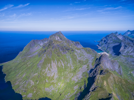 lofoten: Magnificent peaks on Lofoten islands in Norway