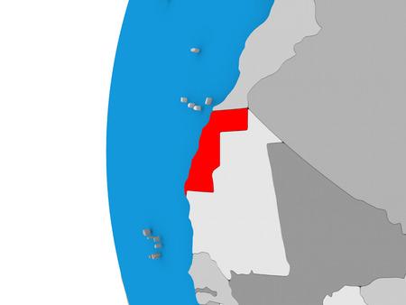 Western Sahara Map Stock Photos Royalty Free Western Sahara Map