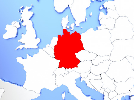 German Map Images Stock Pictures Royalty Free German Map Photos - Germany map simple